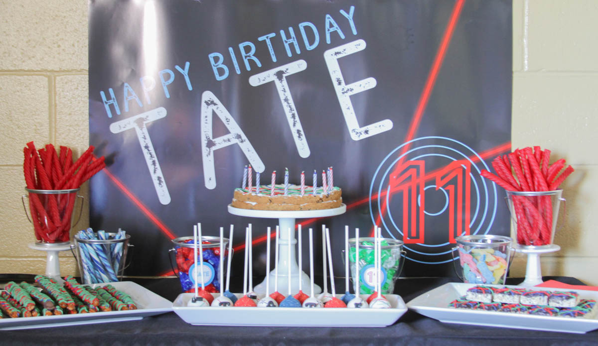 Superb Laser Tag Birthday Party Everyday Party Magazine Funny Birthday Cards Online Alyptdamsfinfo