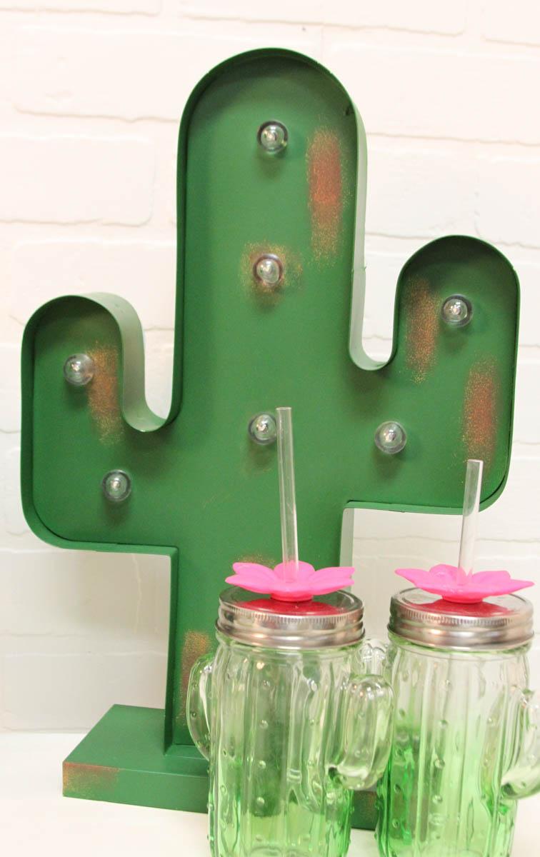 Everyday Party Magazine Tacos and Tequila Cinco de Mayo Party #CincoDeMayo #Party #DIY #CricutMaker #CricutMade #Cactus #SVG