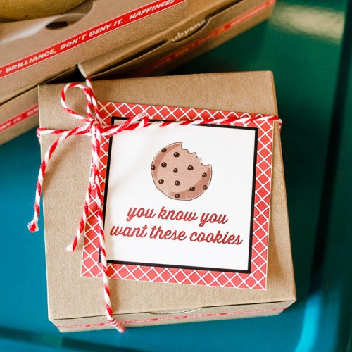 Everyday Party Magazine Teacher Appreciation Gift Tags #Cookies #TeacherAppreciation #GiftTags #FreePrintables