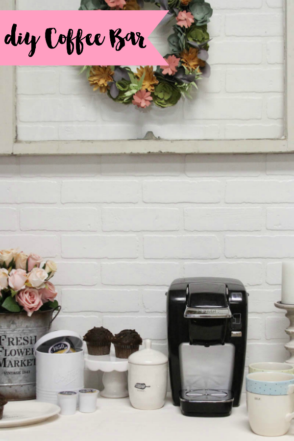 Simple Diy Coffee Bar Everyday Party Magazine
