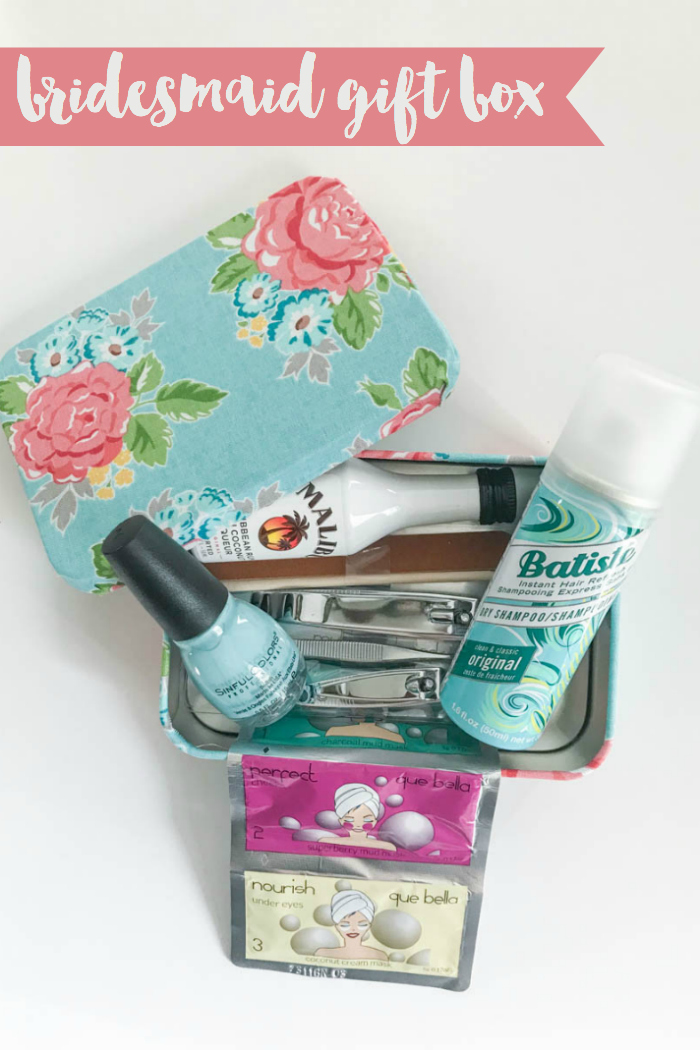 Gift Box Nail Polish Mini Bar Dry Shampoo