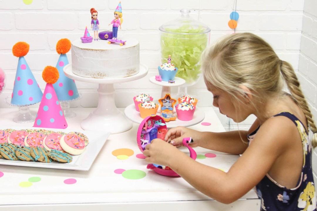 Kids Party Flamingo Polly Pocket