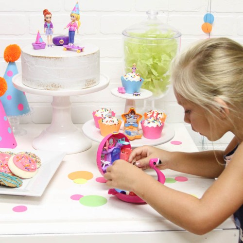 Kids Party Flamingo Polly Pocket