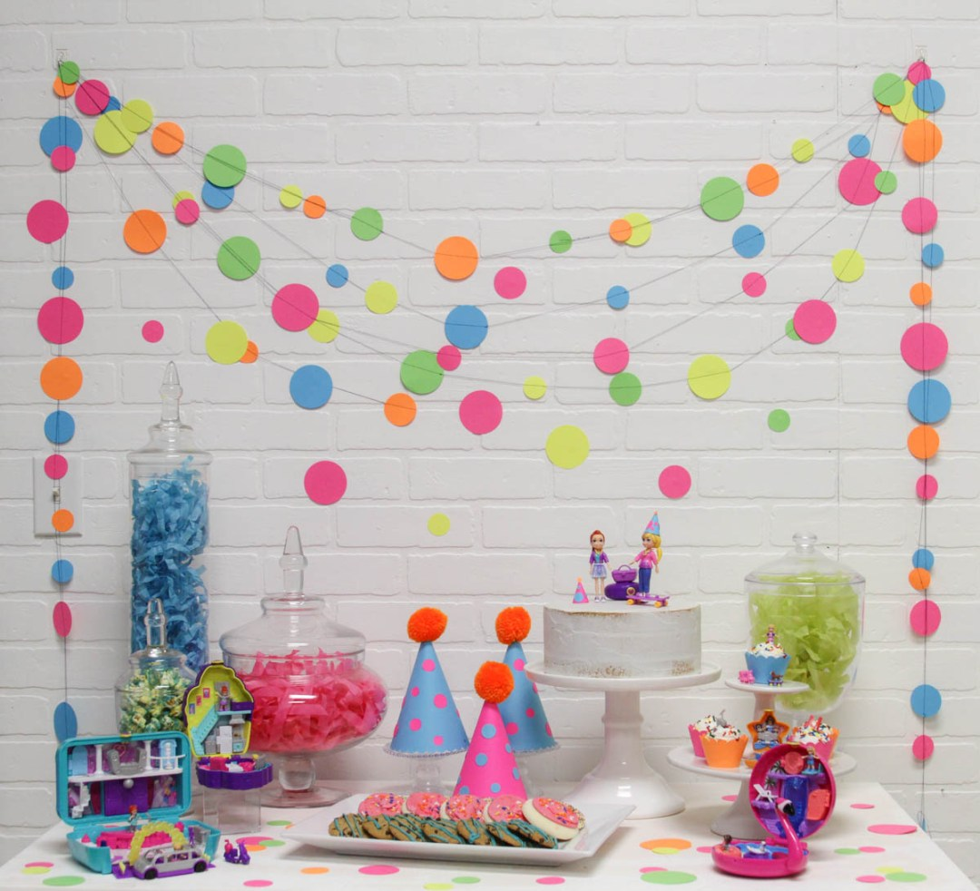 Colorful Polka Dot Kids Party