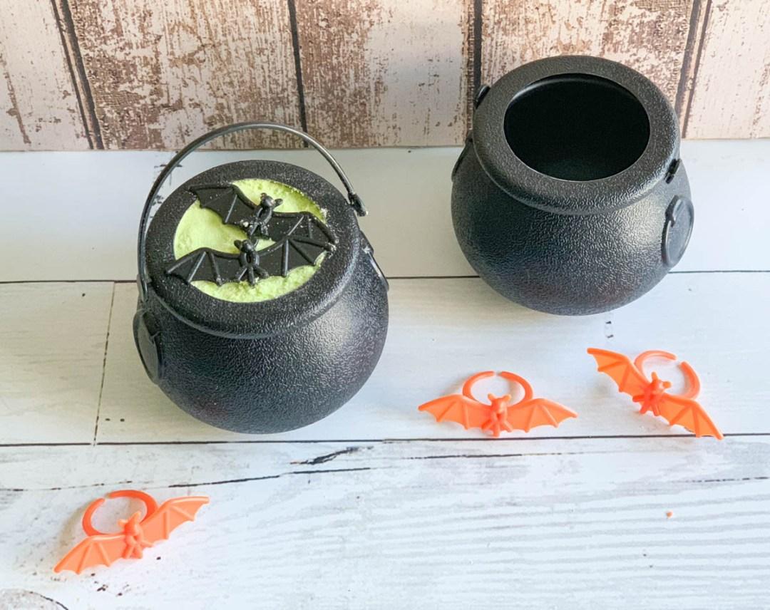 Black Cauldrons bat rings