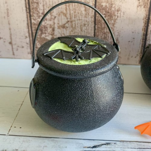 Halloween Cauldron Bath Bomb Halloween Bat Rings