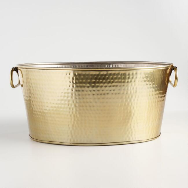 Gold Party Tub