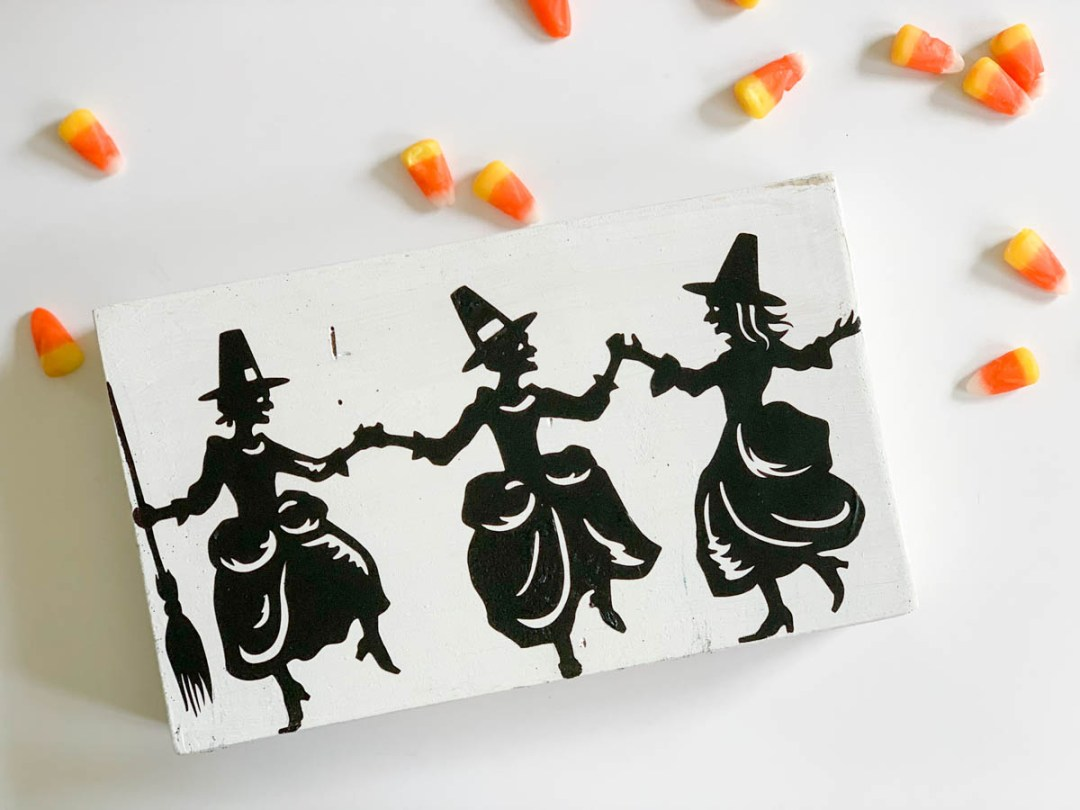 Wooden Farmhouse Sign Candy Corn