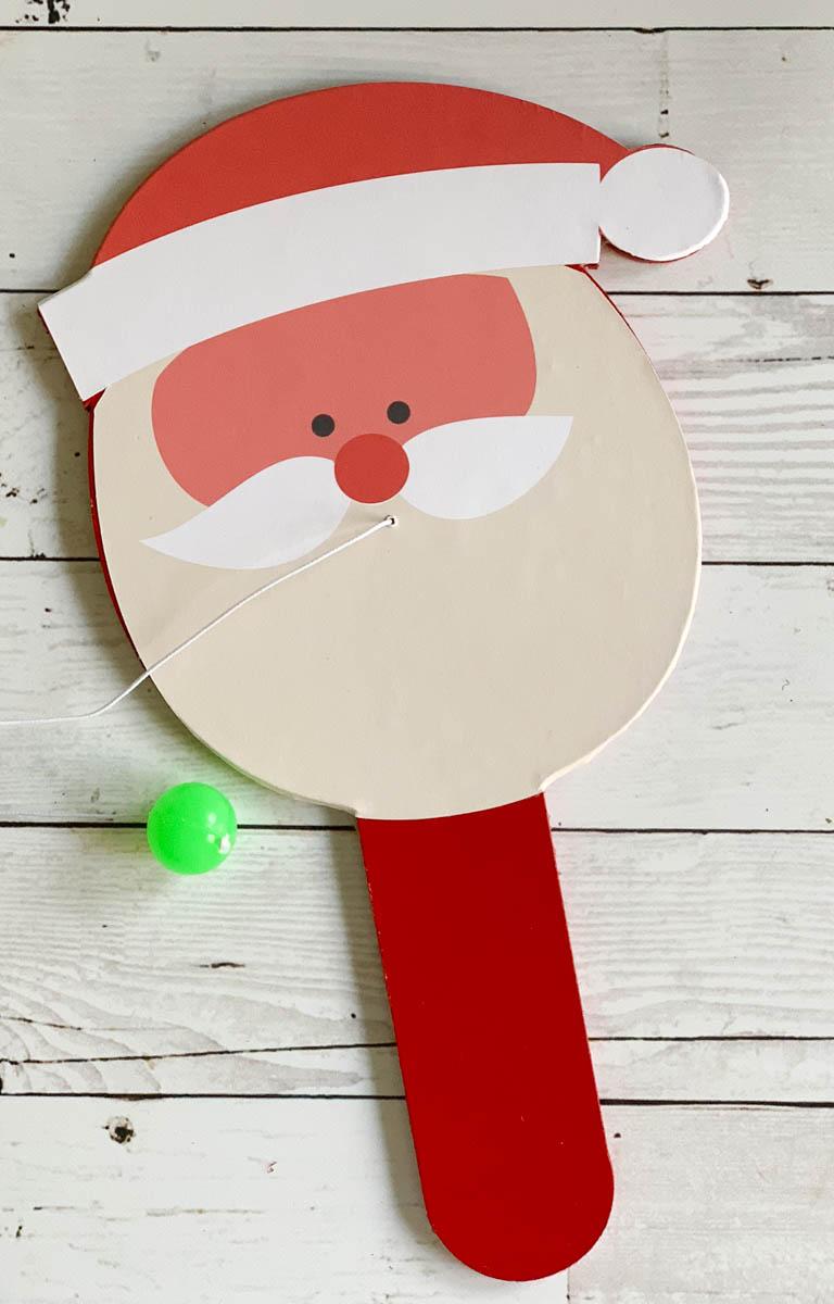 Santa Paddle Ball
