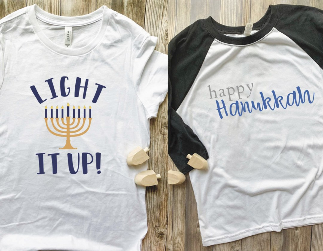 Two Hanukkah Shirts