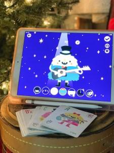 iPad Flash Cards Christmas Tree