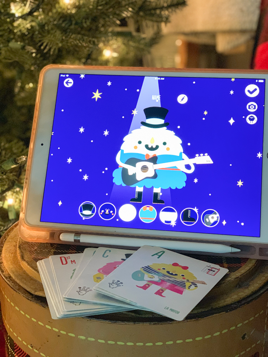 iPad Flash Cards Christmas Tree