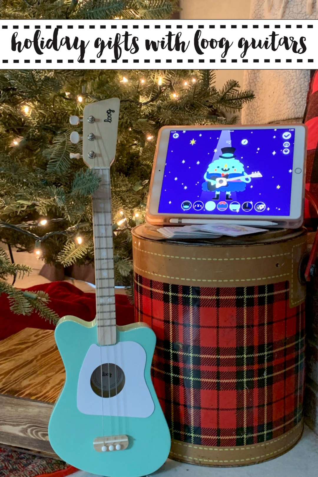 Loog Guitar iPad Cooler Christmas Tree
