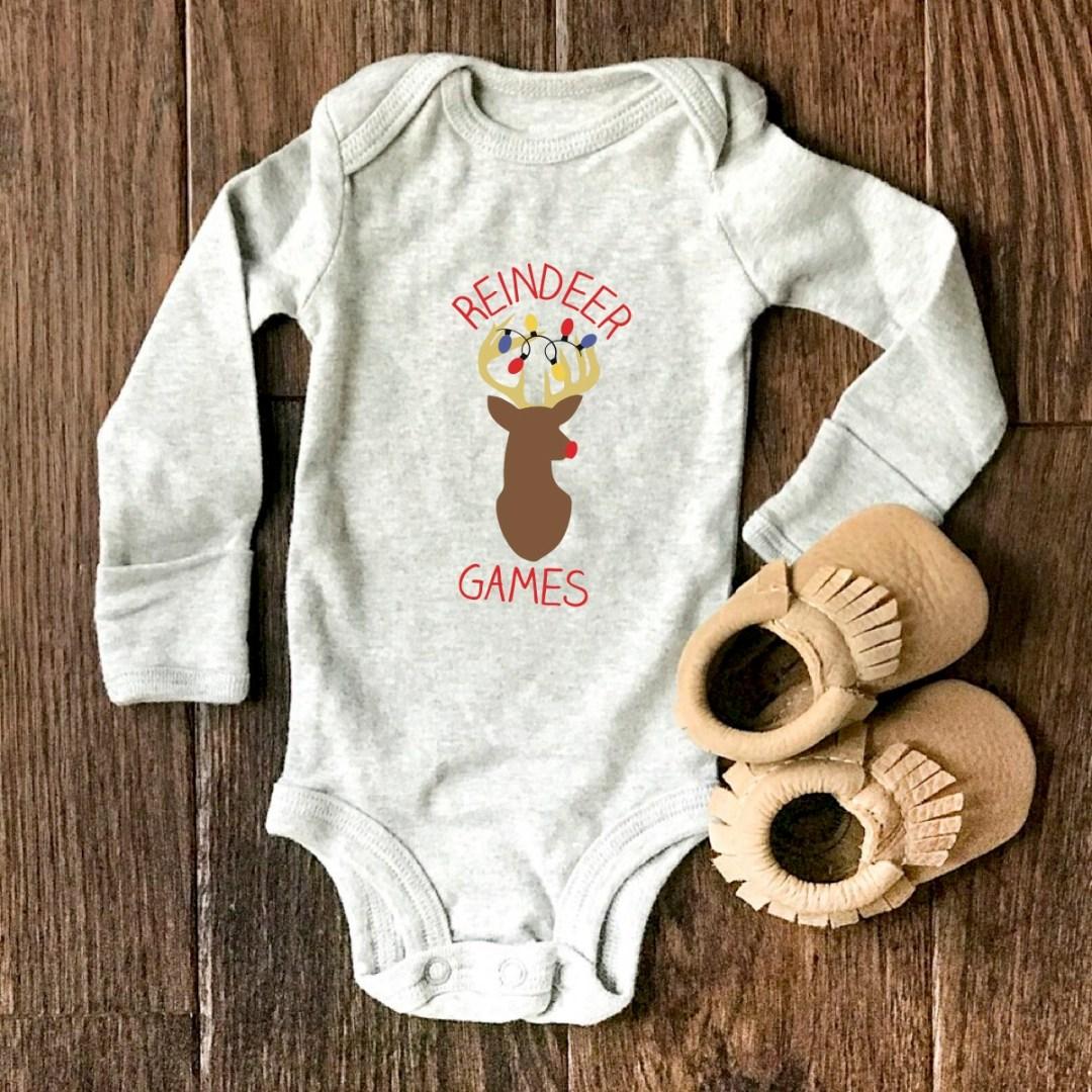 Holiday Baby Onsies