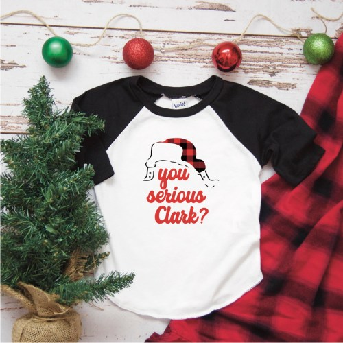 Christmas Raglan Shirt
