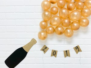 New Year's Eve Party Backdrop