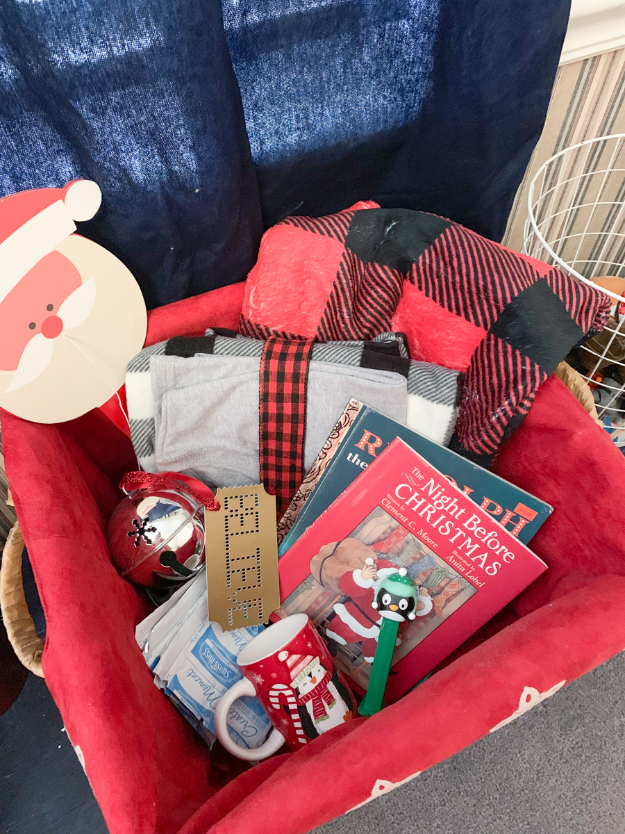 Guest gift basket