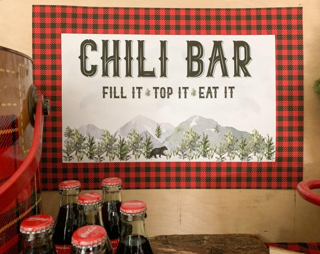 Rustic Chili Bar Sign