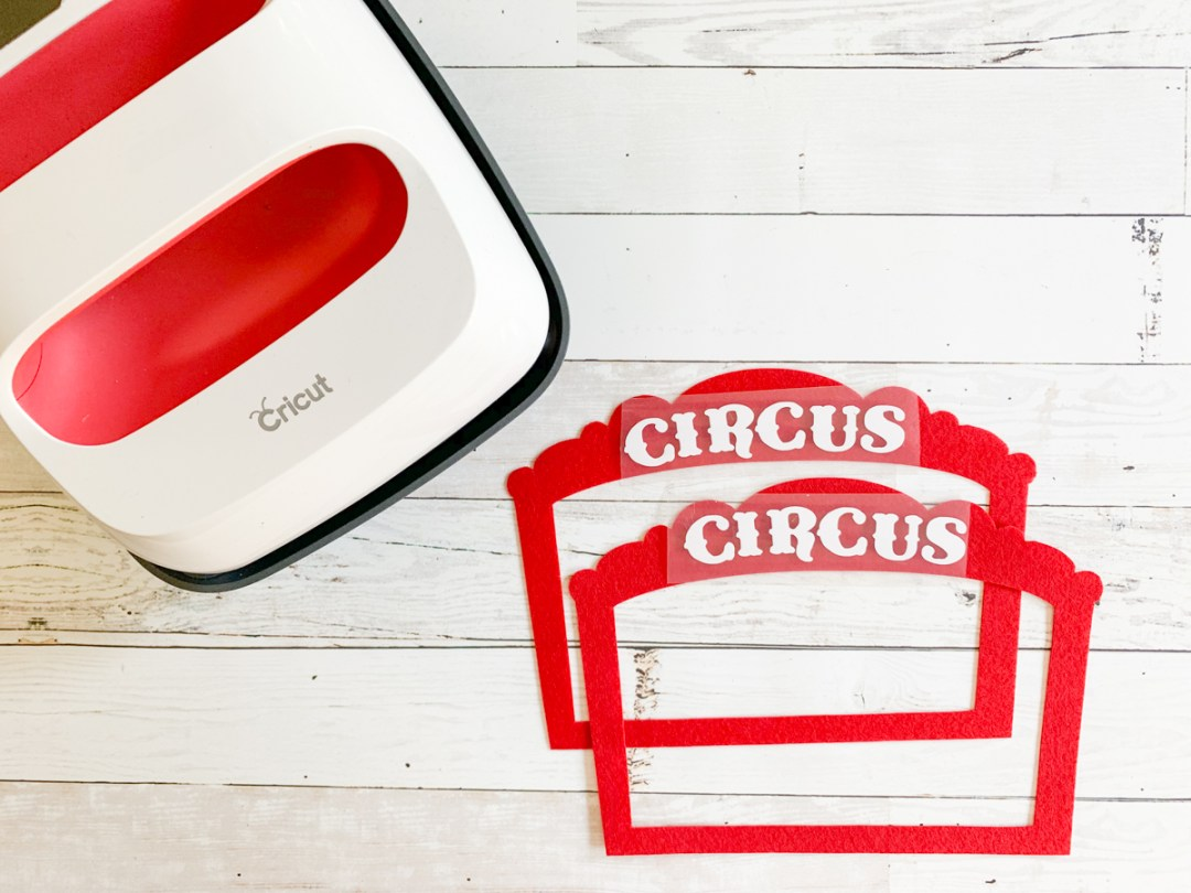 Cricut EasyPress 2 Circus Felt