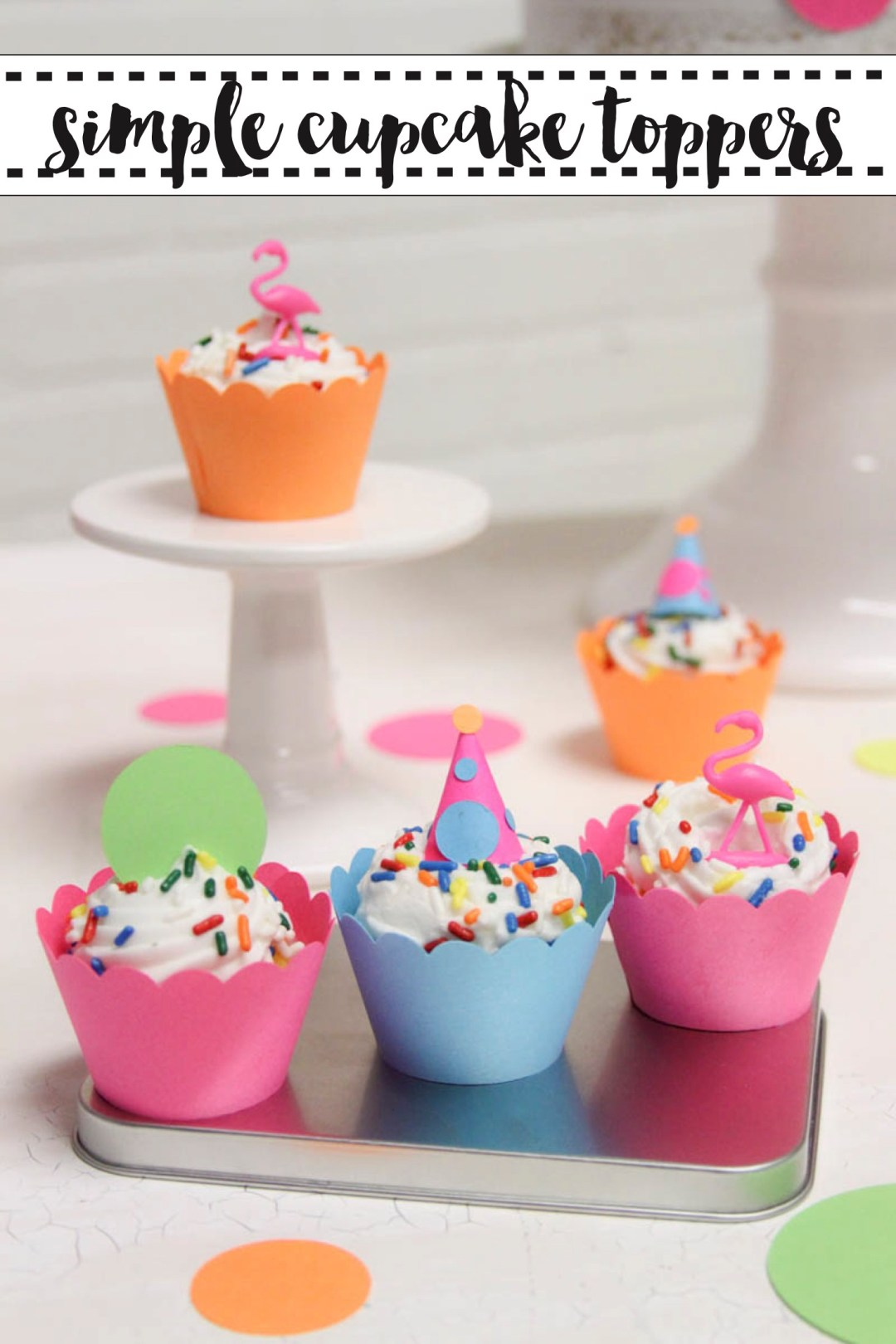 Simple Party Cupcakes