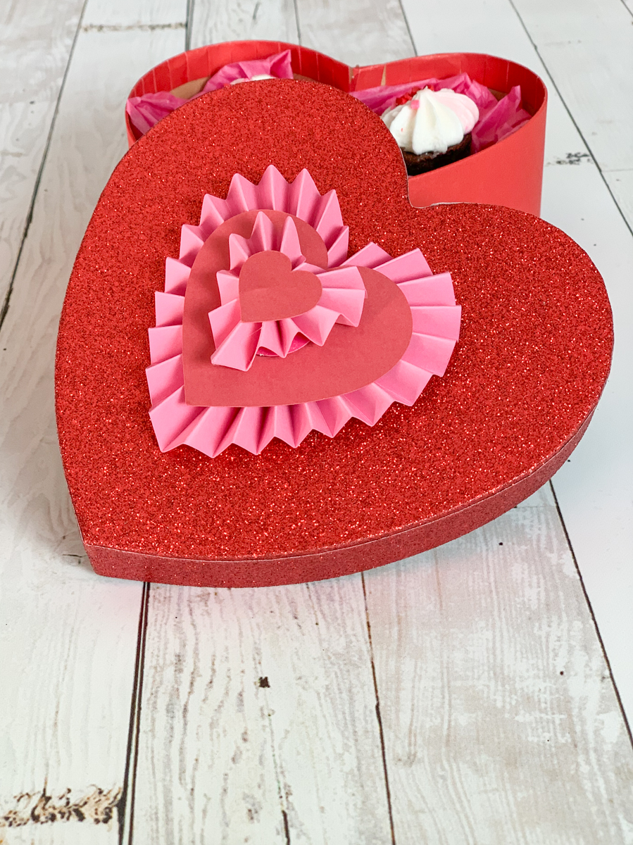 Valentine's Day Heart Box