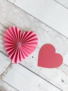 Heart Shaped Rosette