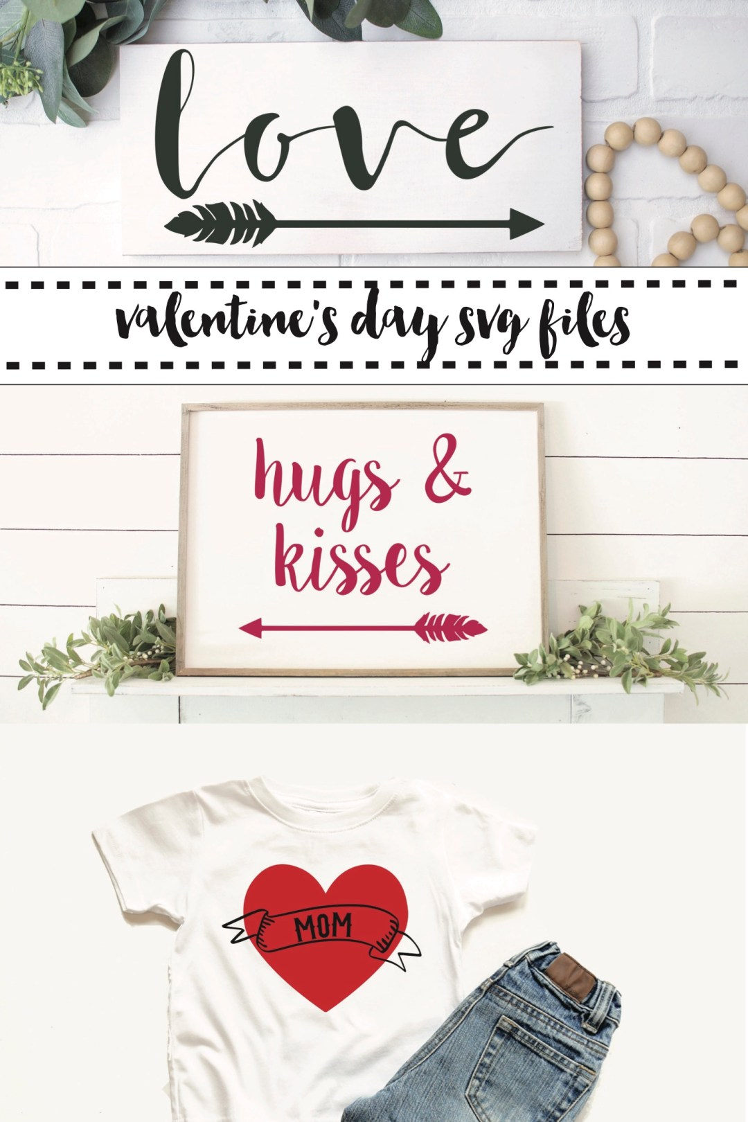 Farmhouse Style Signs Boy's Valentine's Day Shirt
