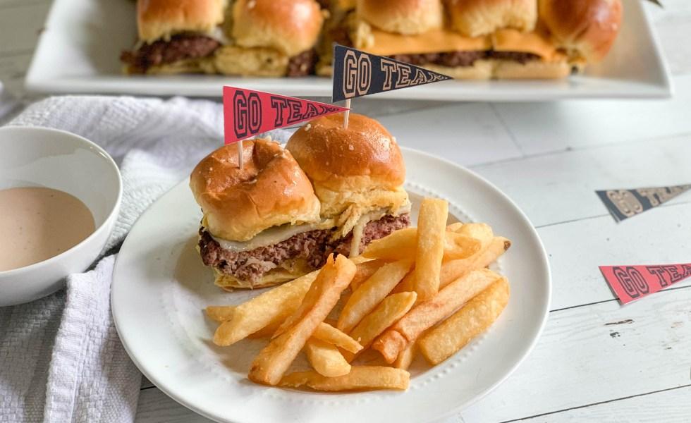 Mini-Cheese-Burger-Sliders