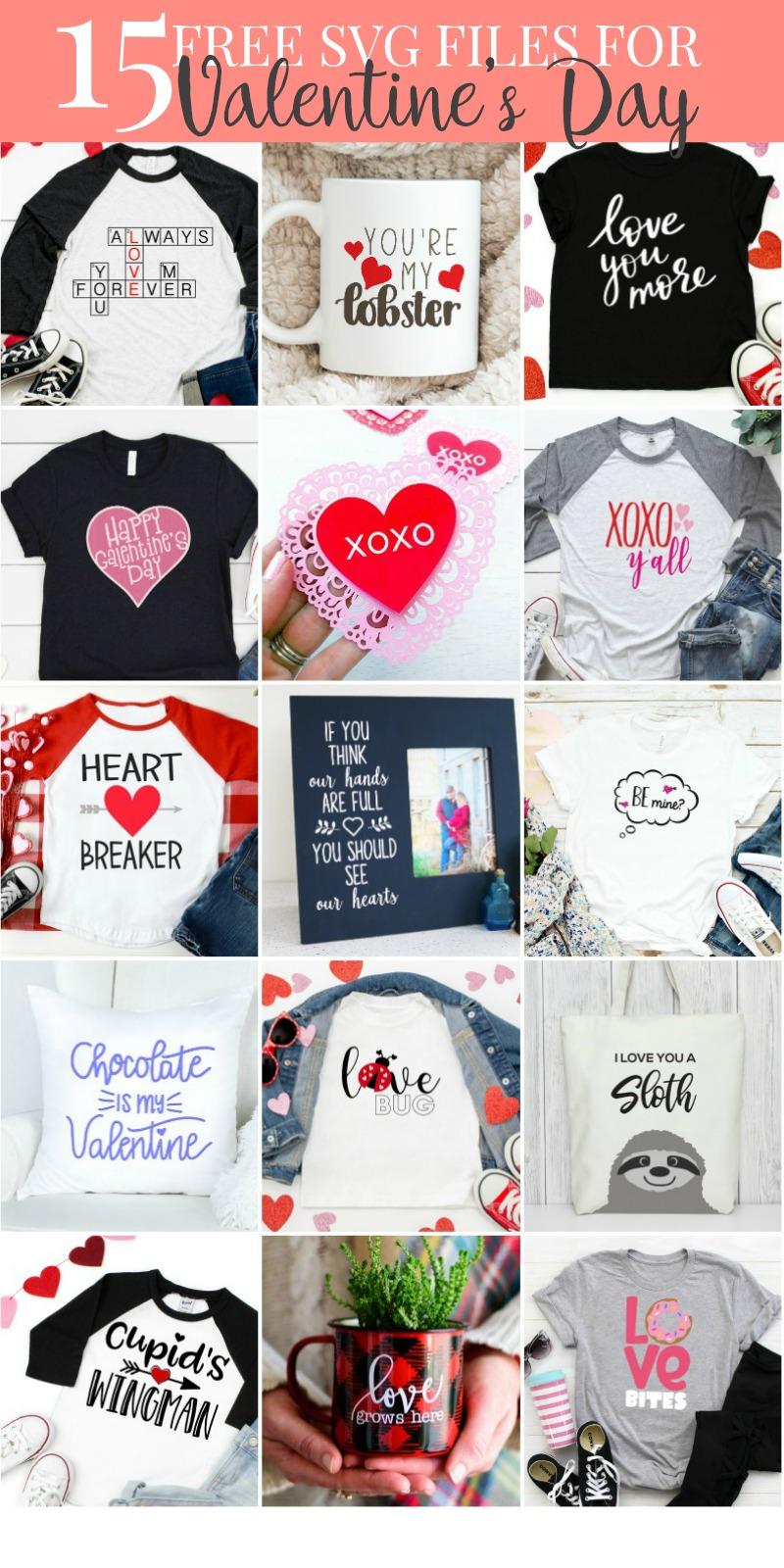 Valentine's Day SVG Files