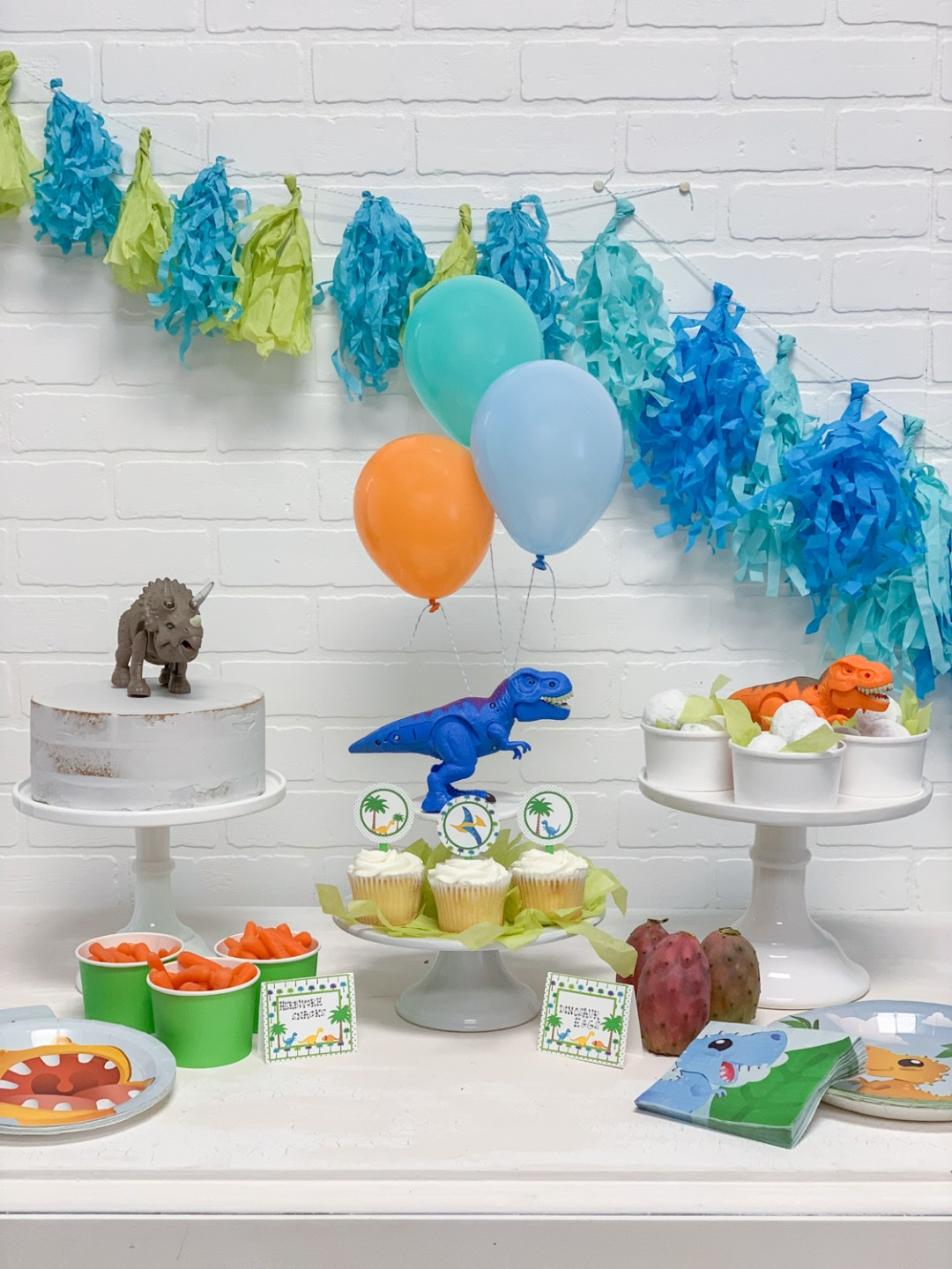Colorful Dinosaur Party
