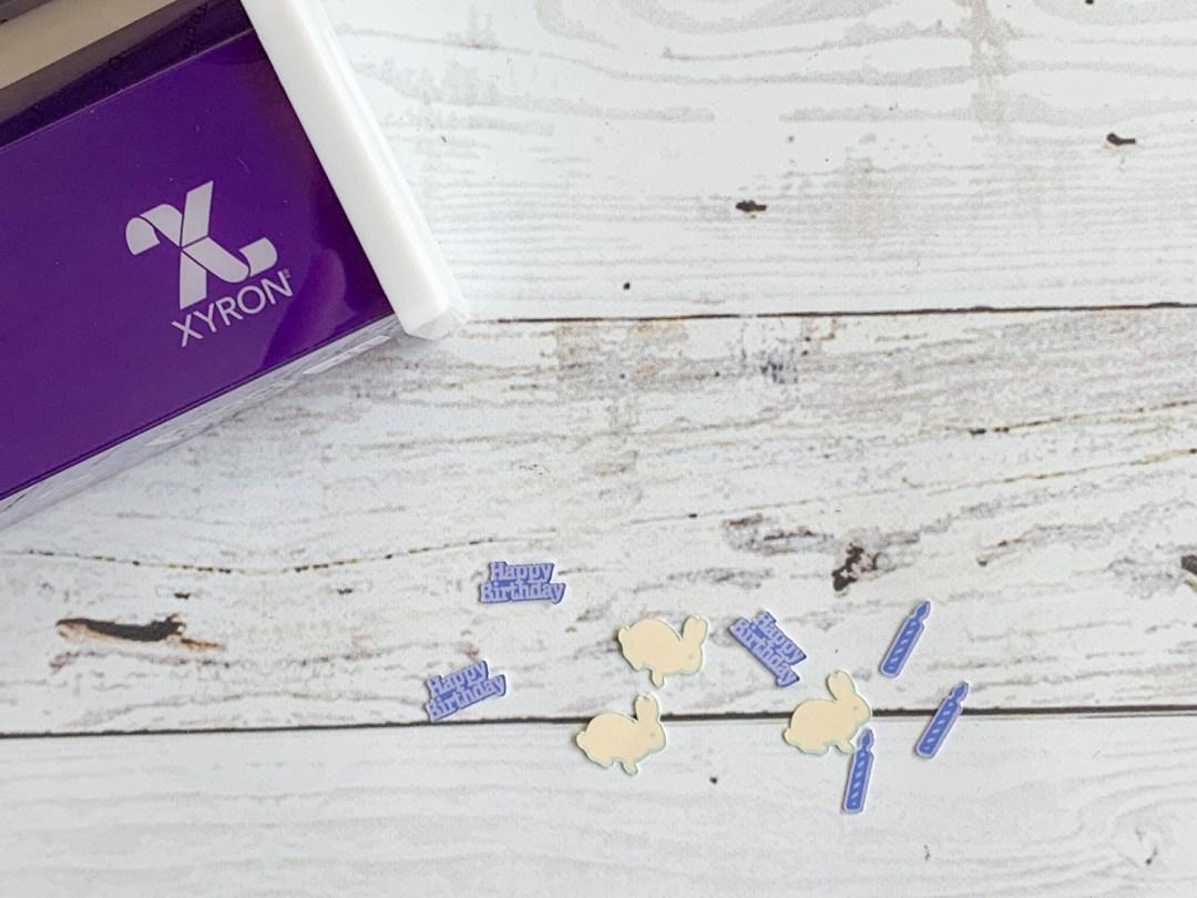Confetti Xyron Sticker Maker