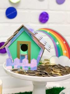 Leprechaun Trap Rainbow Gold Coins St. Patrick's Day Party