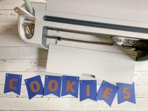 Cricut Maker Paper Cookies Banner