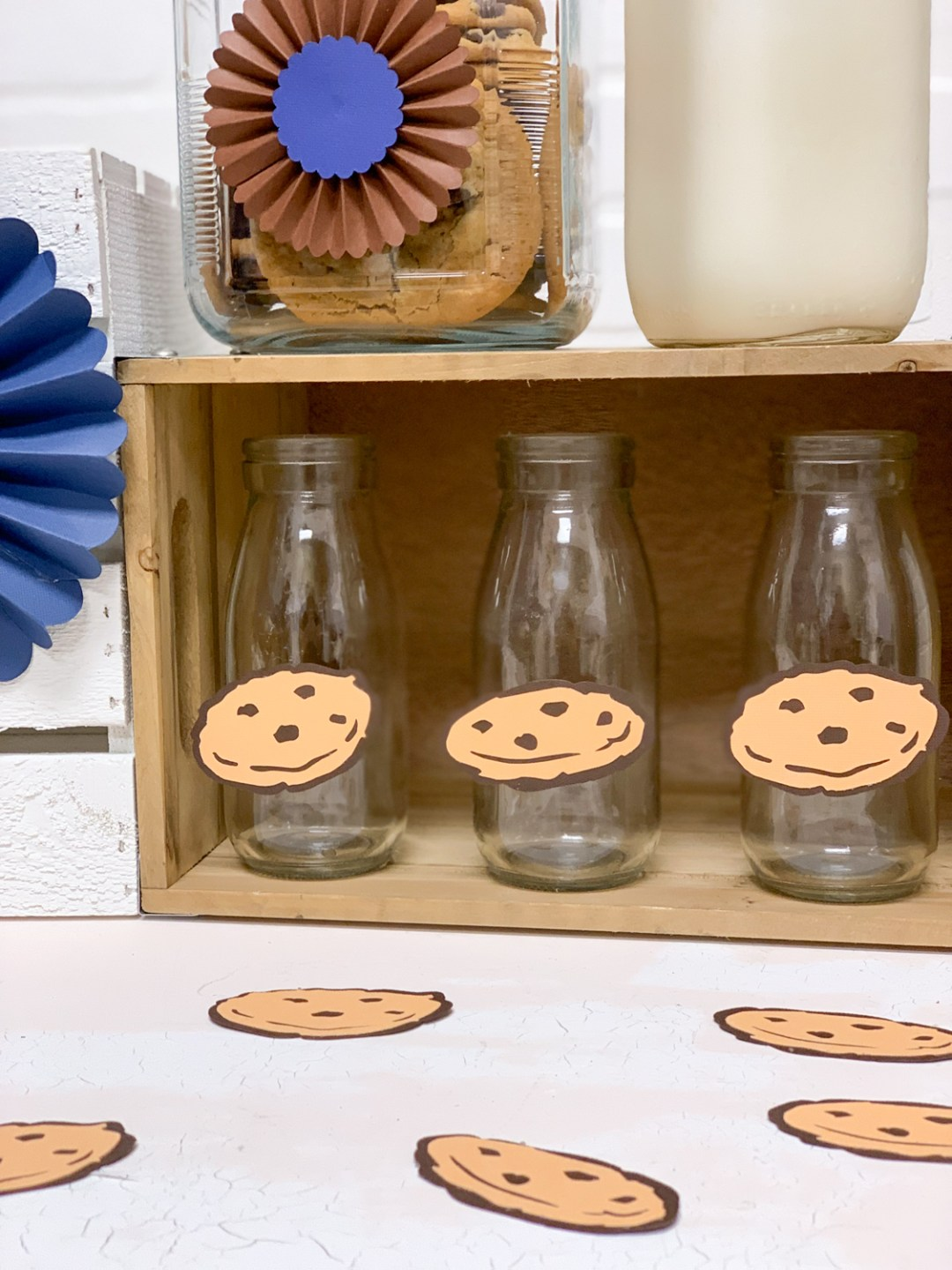 Milk Bottles Cookies