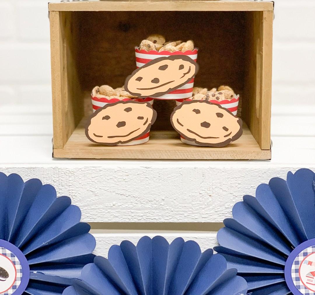 Paper Cookie Party Decor