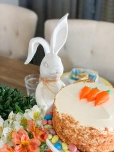 Rustic Bunny Carrot Cake