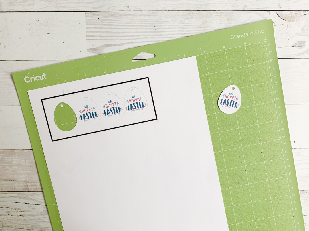 Cricut Cutting Mat Easter Eggs