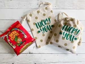 St. Patrick's Day Treat Bags Lucky Charms
