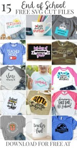 End of the School Year T-Shirt Collage