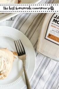 Cinnamon Rolls Jackson Morgan Southern Cream
