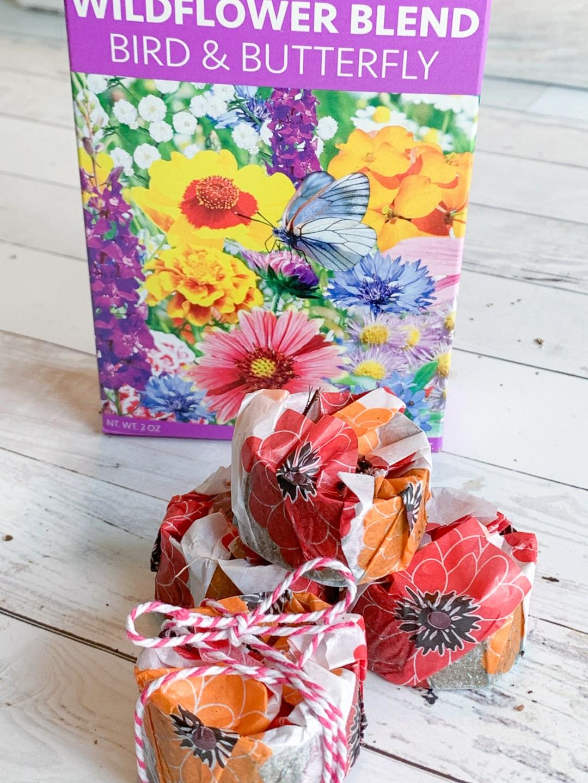 Flower packages flower seeds
