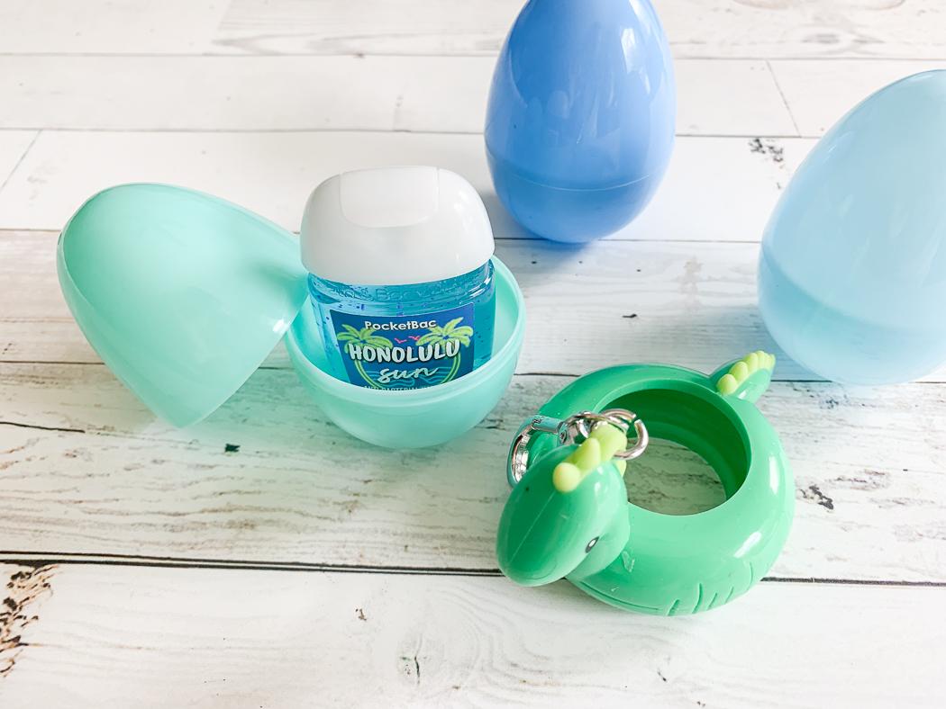 Hand Sanitizer Easter Eggs Key Ring