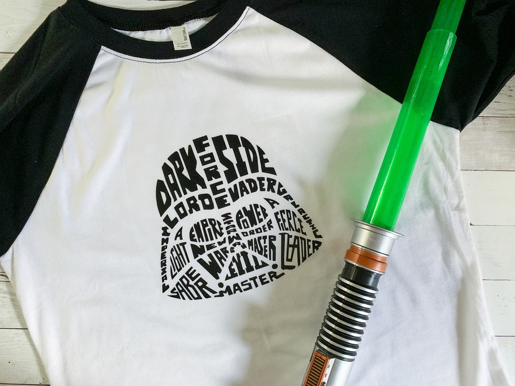 Darth Vader Typography Shirt