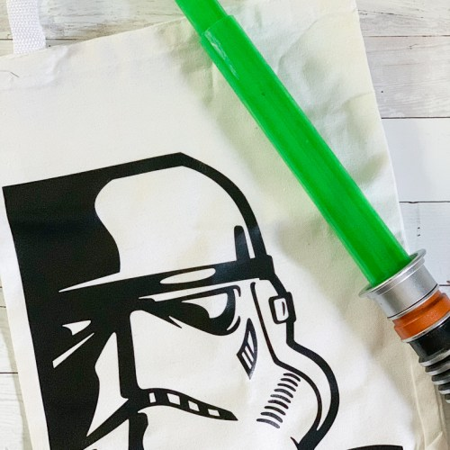 Storm Trooper Bag Light Saber