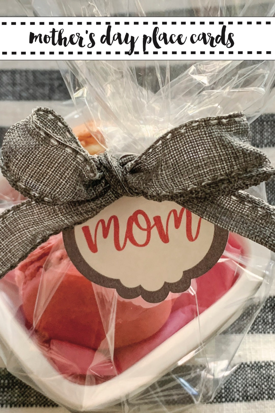 Mother's Day Place Card Gift Bag