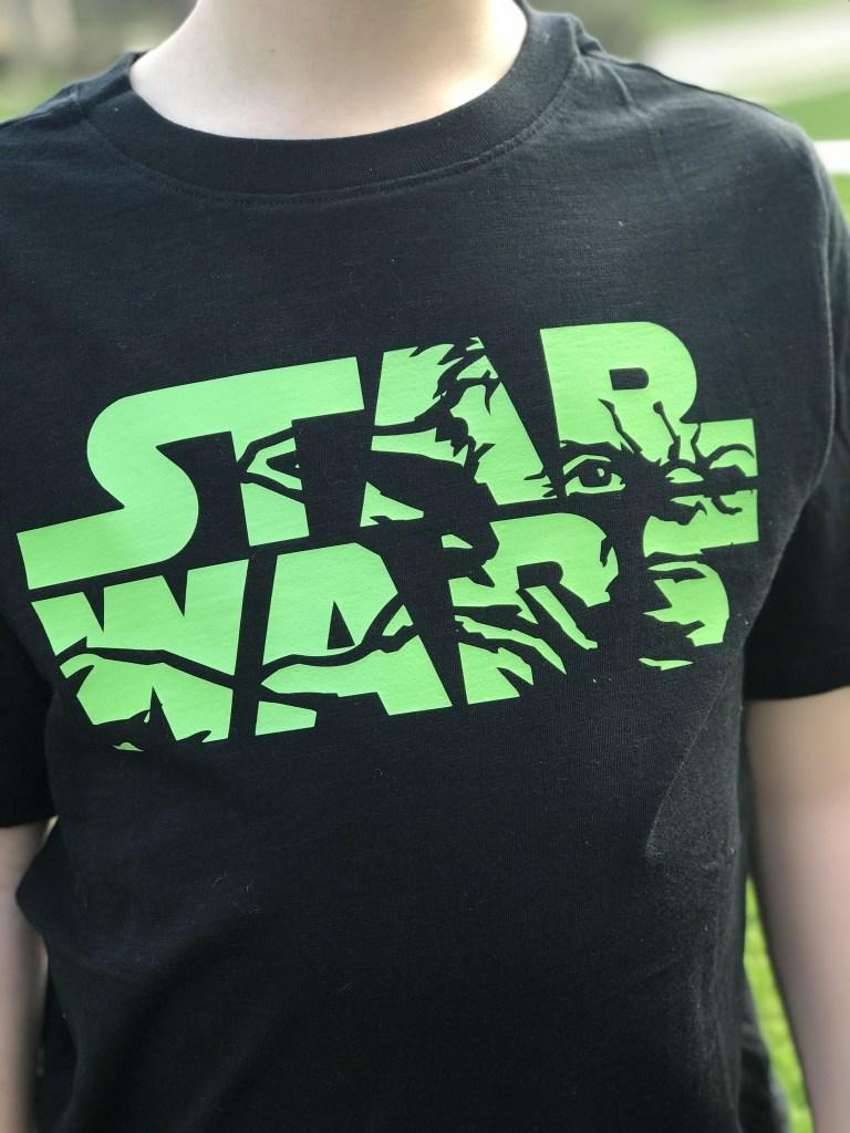 Black and Green Star Wars Shirt