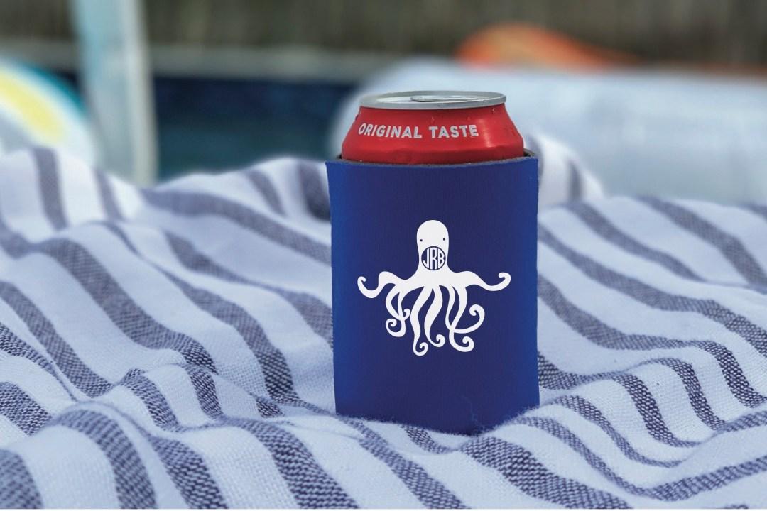 Octopus Can Cooler