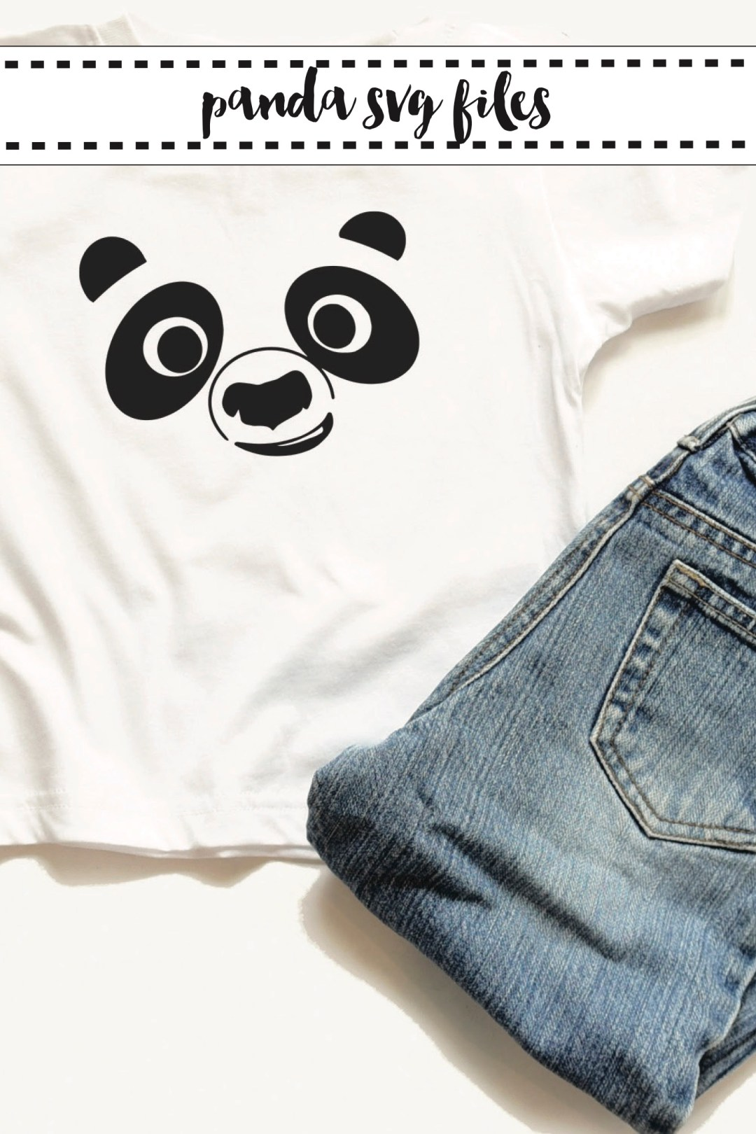 Child's Panda Face Shirt
