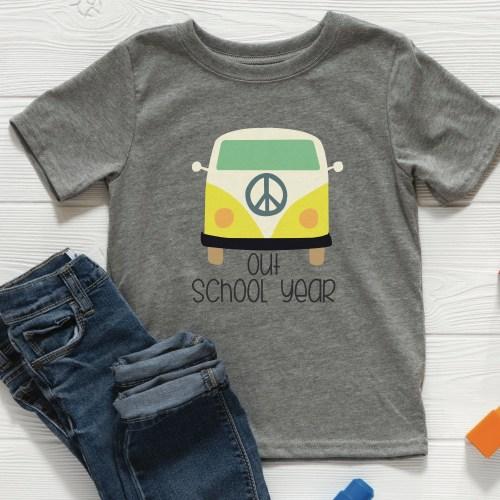 VW bus shirt jeans