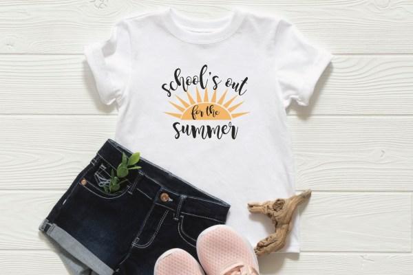 Girls Summer Shirt Jeans Shoes